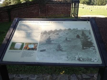 Fredericksburg National Cemetary