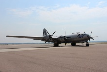 Fifi is the only active flying Boeing B-29 remaining.