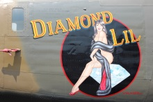 Diamond Lil is the oldest B-24 in existence. She was the 25th of over 18,000 built